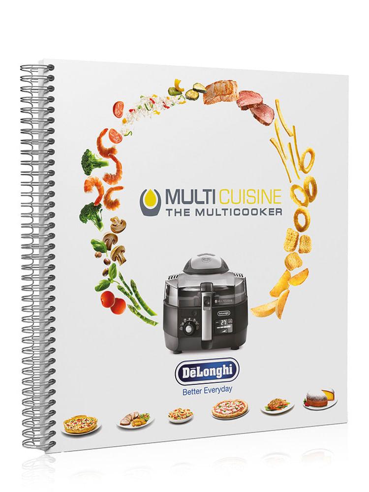 Livro de Receitas Multicuisine Delonghi