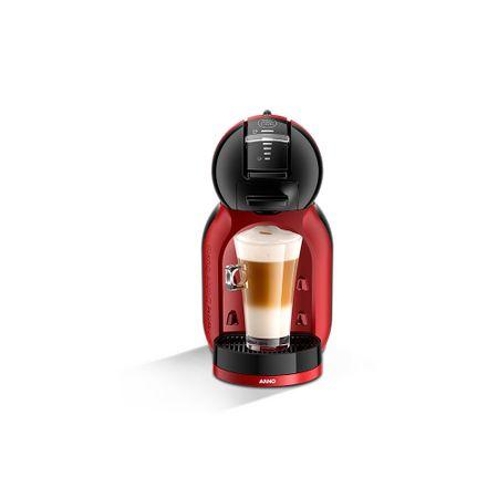 Máquina De Café Dolce Gusto Mini Me Preta e Vermelha