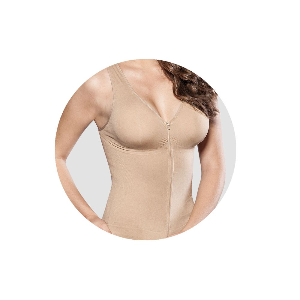 Disfarça as gordurinhas e deixa sua silhueta mais elegante, com máximo conforto!