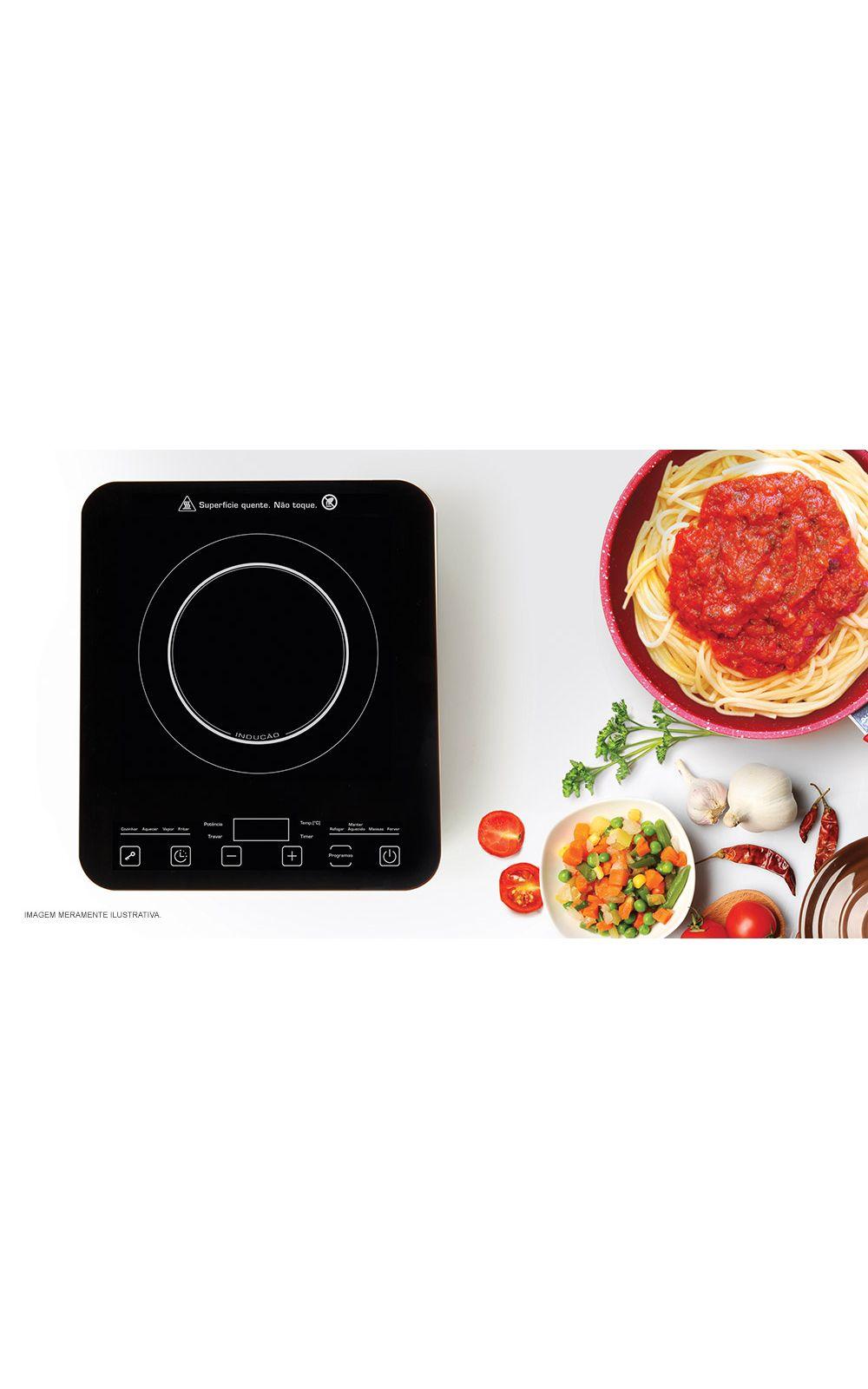 Foto 3 - Cooktop por Indução Gourmet Touch Polishop