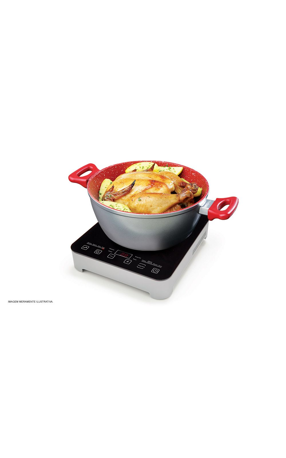 Foto 5 - Cooktop por Indução Gourmet Touch Polishop