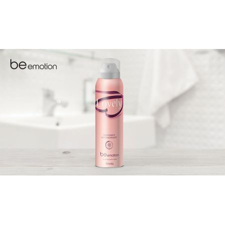 Desodorante Antitranspirante Lovely Be Emotion
