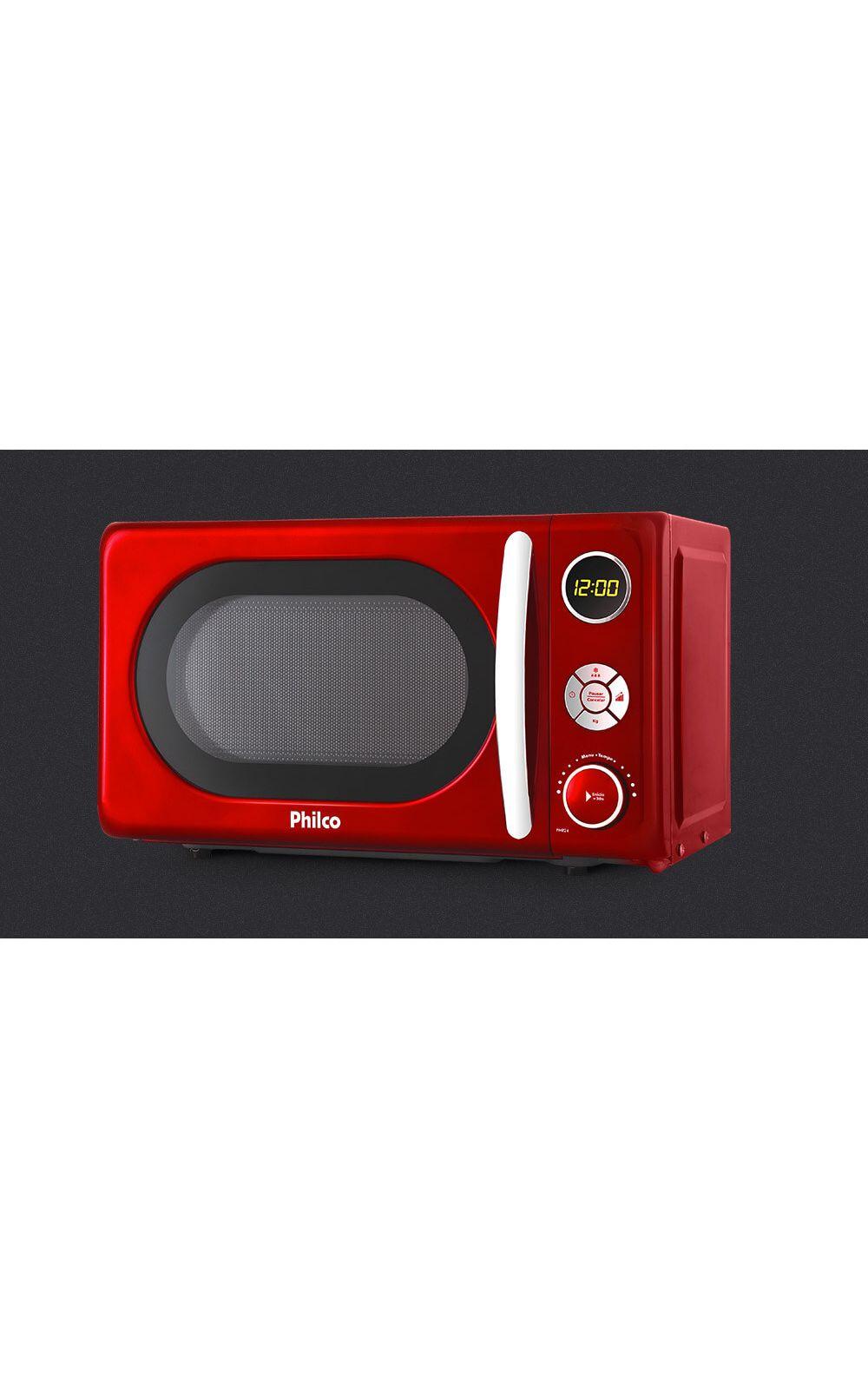 0bec1dd06 Foto 3 - Micro-ondas Retrô Philco Premium