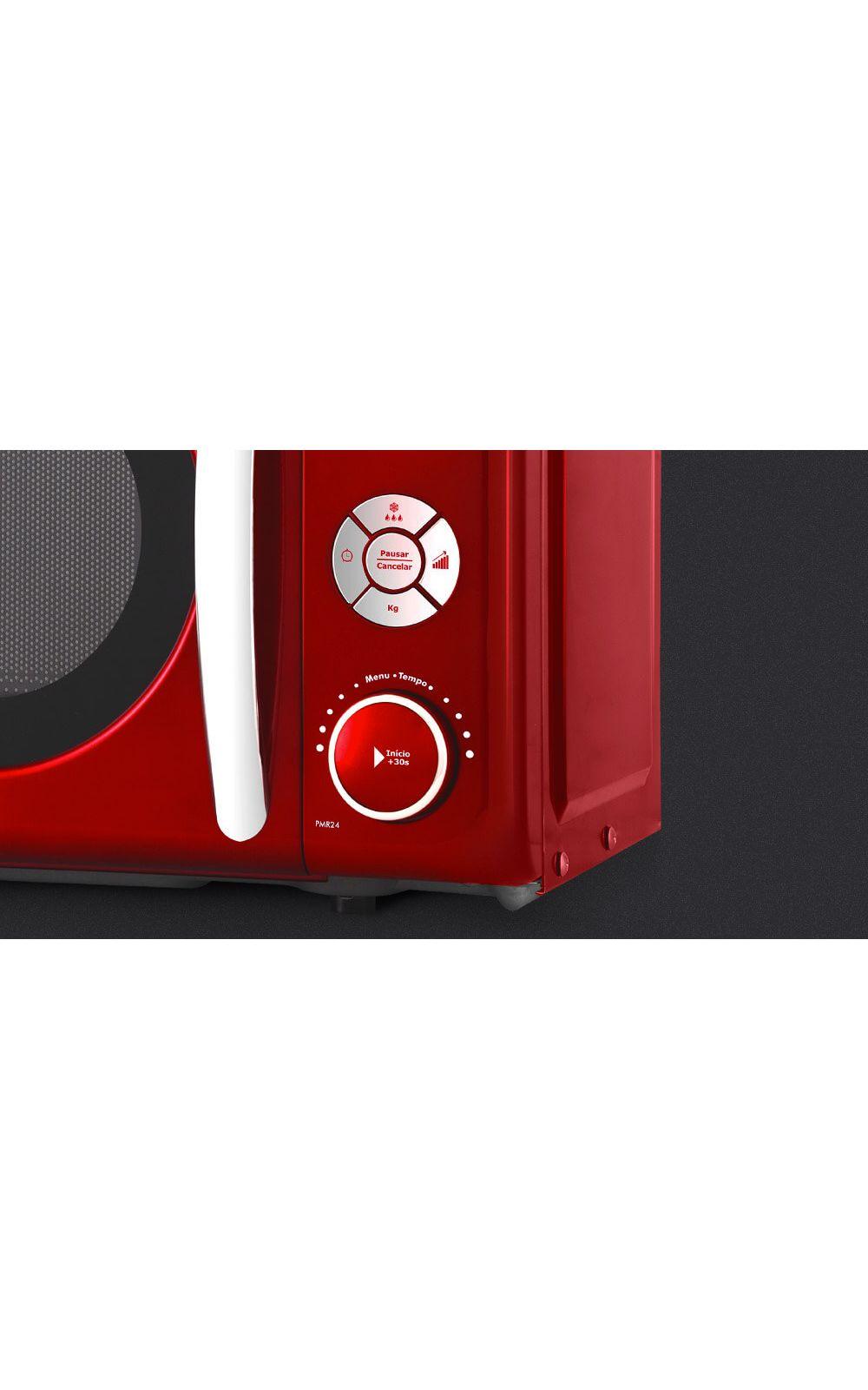 2cbb8a7a2 Foto 4 - Micro-ondas Retrô Philco Premium