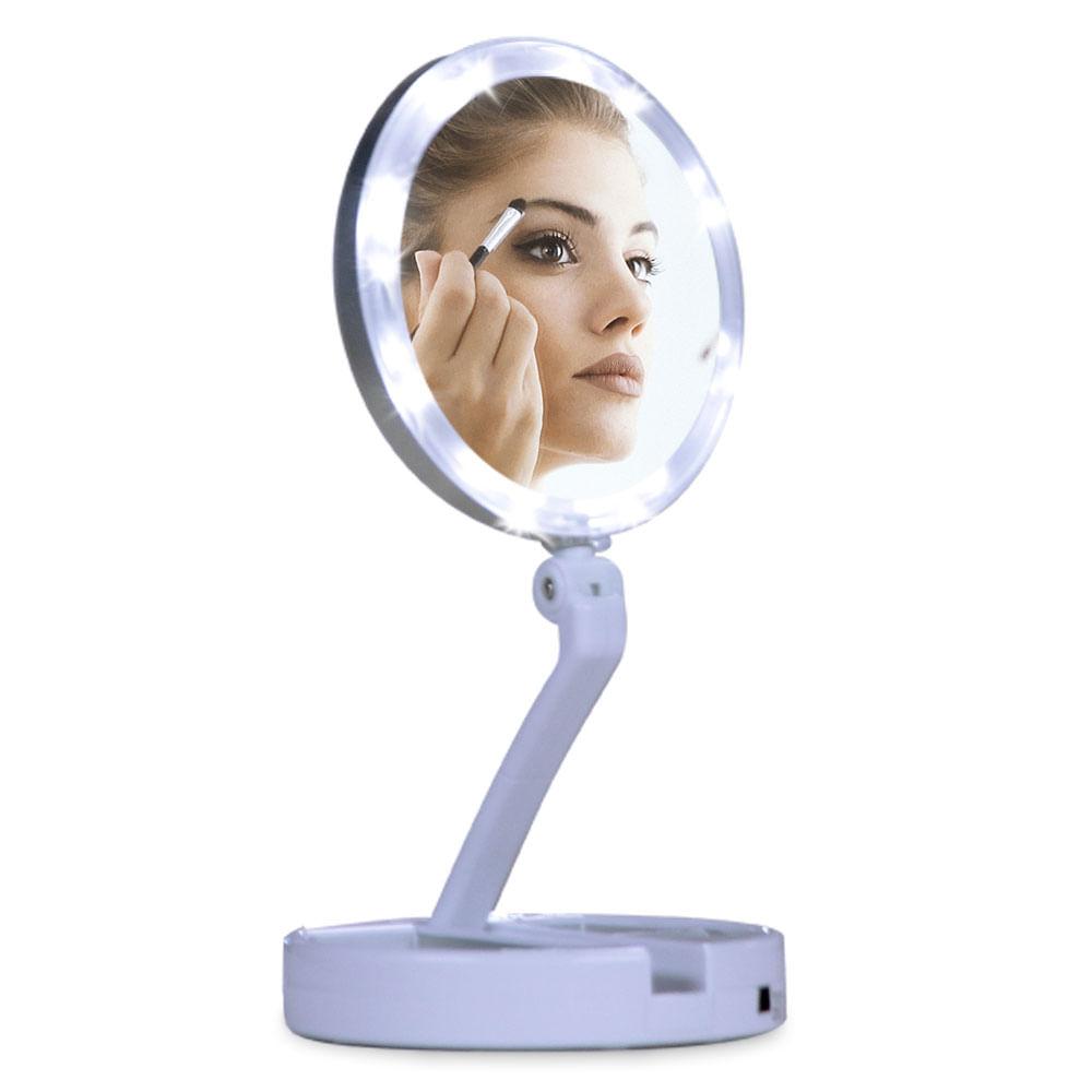 Espelho Dobrável Retratta Lighting Mirror Polishop