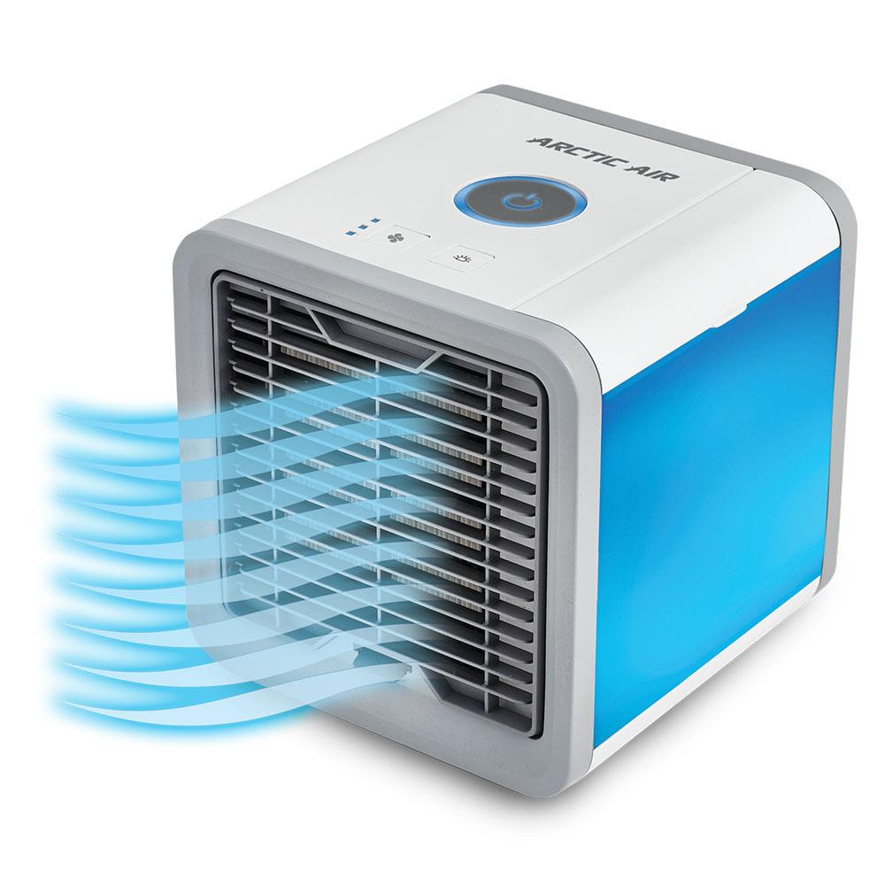 Este climatizador de ar pessoal cria um ambiente mais fresco e gostoso de você respirar!