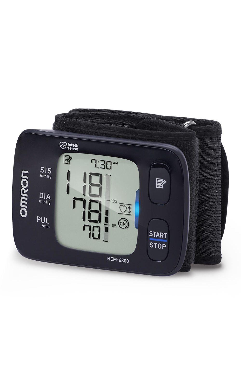 Foto 1 - Monitor De Pressão De Pulso Elite+ Hem-6300 Omron