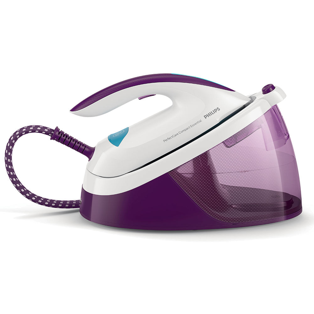 Passa com perfeição, sem queimar e sem precisar de habilidade! Compact Essential: fácil de usar e guardar!