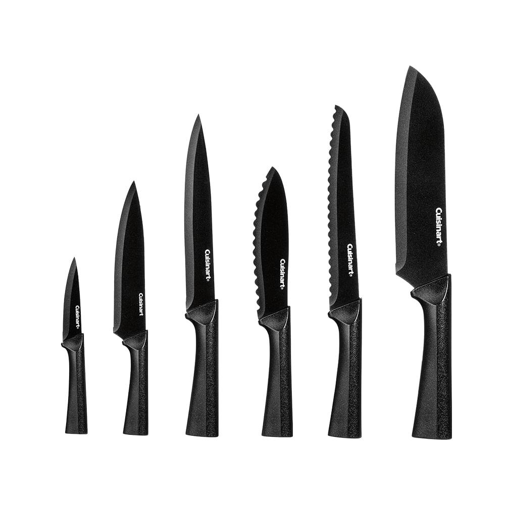 Conjunto de 6 Facas Metallic Cuisinart