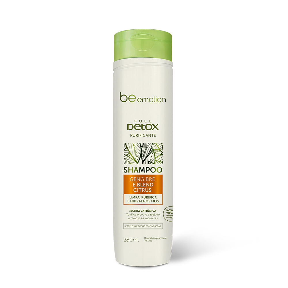 Shampoo Purificante Full Detox Be Emotion