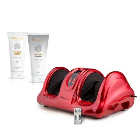 Massageador Foot Massager Ultra Polishop + Loção Criogênica Varicare Day &...