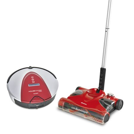 Robô Aspirador Housekeeper Pro + Vassoura Elétrica Cordless Sweeper Polishop...