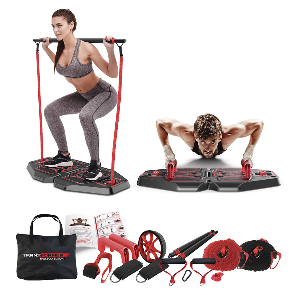 Genis Fitness Plataforma de Exercícios  Transformer Full Body Station