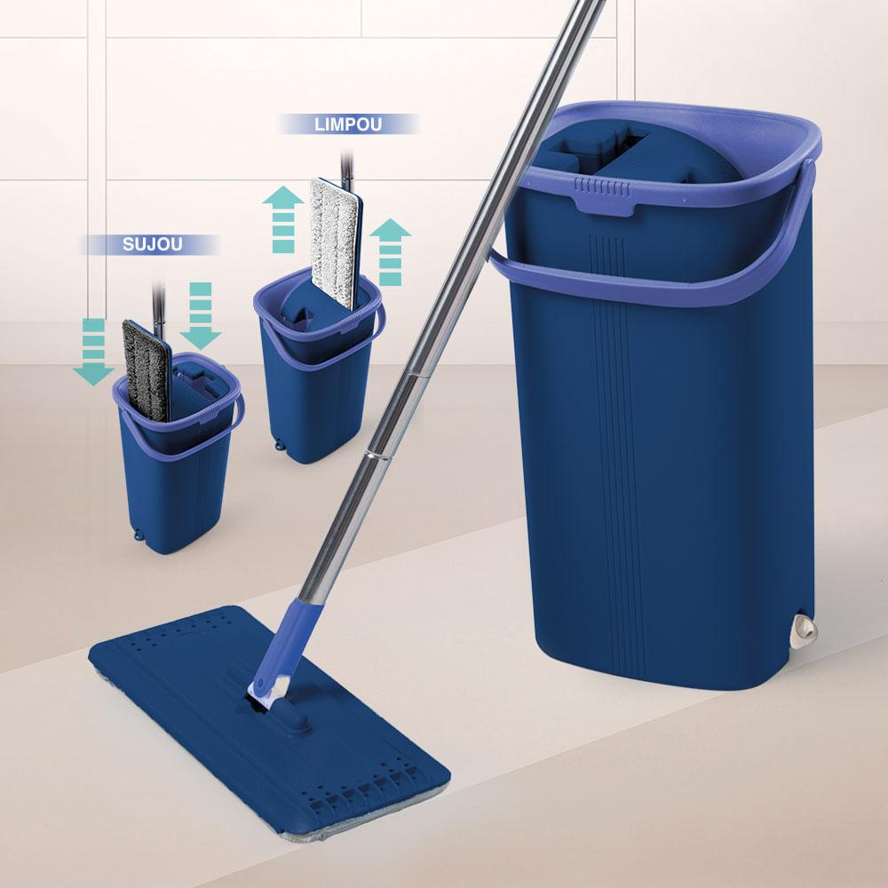 Limpador Multiuso Wash & Dry Easy Mop Polishop